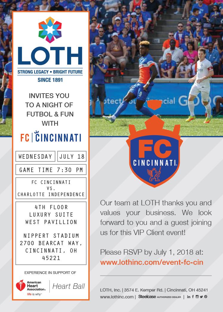 FC Cincinnati invite