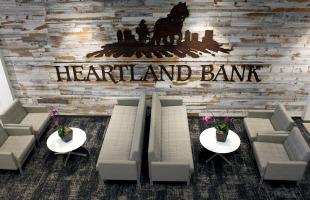 Heartland Bank lounge