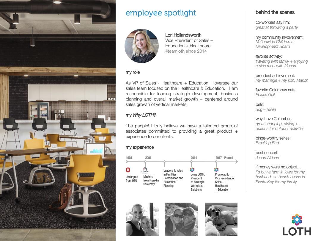 Lori Employee Spotlight