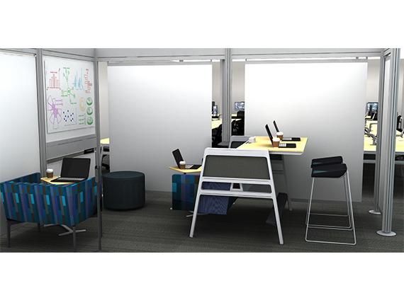 bivi work area